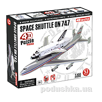 Объемный пазл 4D Master Спейс Шаттл на Боинг 747 26375