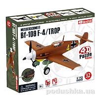 Объемный пазл 4D Master Самолет BF-109 Messerschmitt F-4/Trop 26907