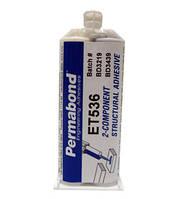 Permabond ET536 (Эпоксидный клей, двухкомпонентный, усиленная прочность, белый, аналог Loxeal)