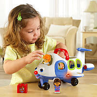 Музыкальный Самолет Fisher Price - серия Little People - серия Little People