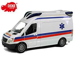 Машинка Скорая помощь Dickie 3716011