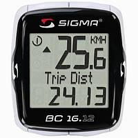 Велокомпьютер Sigma Sport BC 16.12 Проводной