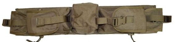 Комплект подсумков EMERSON Sniper Waist Pack Khaki, EM5750C