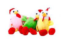 "Мягкая игрушка ""Петух"" 14см, 6 цветов, ЦЕНА ЗА 1 ШТ"