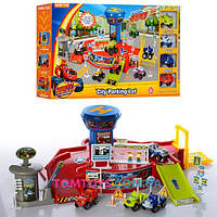 Игровой набор парковка гараж Вспыш и Чудо машинки 828-58