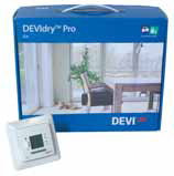 Набор мат нагревательный DEVIdryProKit, комплект:DEVIreg535+каб3м+ключ+алюм.скотч