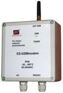 GSM/GPRS-модем ES тип А IP65 з вбудованим БЖ на 220 В
