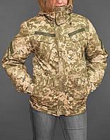Женская зимняя куртка с меховой подстежкой (пиксель ЗСУ ММ-14), фото 1