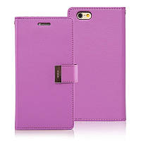 Книжка Goospery Rich Diary Wallet Case iPhone 6/6S Purple