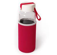 Бутылка для питья стеклянная Millennium 450 мл с термочехлом