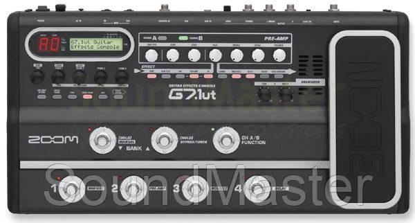 Процессор эффектов Zoom G7.1ut - SoundMaster в Киеве