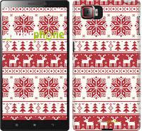 """Чехол на Lenovo Vibe Z2 Pro k920 новый год и красные олени """"1487u-284"""""""