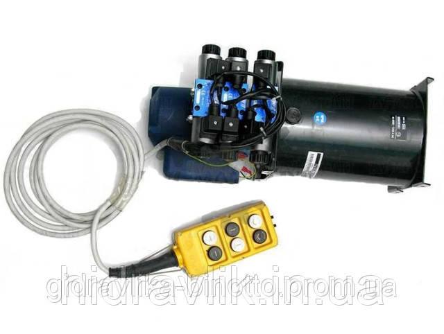 Электрический гидравлический насос 24V - 6 функции 3 цилиндра