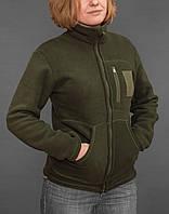 Куртка женская флисовая Polar Level 3 (олива)