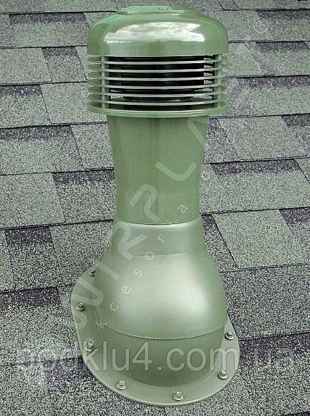 Выход вентиляционный неизолированный с электрическим вентилятором К-43 WIRPLAST