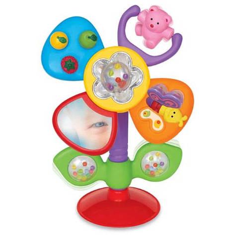 Развивающие и обучающие игрушки «Kiddieland» (051185) Цветик на присоске (звук. эффекты, рус. яз.), фото 2