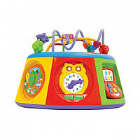 """Развивающие и обучающие игрушки «Kiddieland» (054932) игровой центр """"Мультицентр"""" (звук. эффекты, укр. яз.)"""