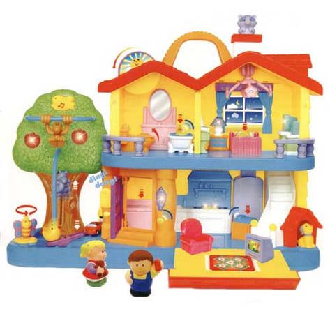 """Розвиваючі і повчальні іграшки «Kіddіeland» (032730) набір """"Заміський будинок"""" (звук. ефекти), фото 2"""