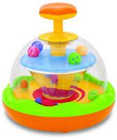 """Развивающие и обучающие игрушки «Kiddieland» (029595) музыкальная юла """"Веселые непоседы"""""""