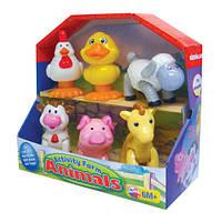 """Развивающие и обучающие игрушки «Kiddieland» (041244) набор """"Домашние животные"""""""