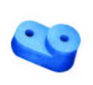 """Изолятор угловой для """"О"""" шины синий (200 штук) ИЭК"""