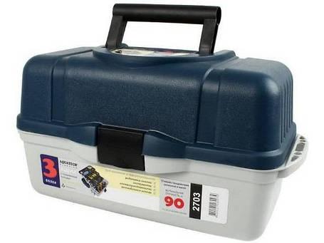 Ящик для снастей 3 полки 2703, фото 2