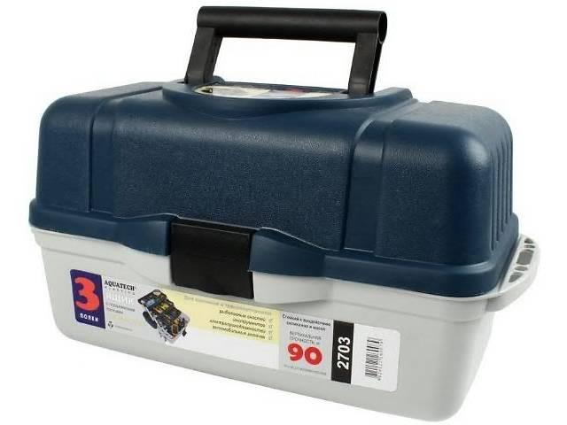 Ящик для снастей 3 полки 2703