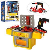 Стол мастера с инструментами. TP302   Детский набор инструментов.