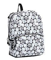 "Рюкзак для подростка ""БРИЛЛИАНТЫ"" с ярким дизайном ТМ Mojo Pax Серый мульти с LED Свет KAA9984513"