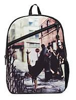 """Рюкзак для подростка """"БРУКЛИН - БРЕЙКДАНС"""" с ярким дизайном ТМ Mojo Pax Мульти KAB9985235"""