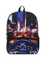 "Рюкзак для подростка ""НЬЮ ЙОРК КРУИЗ"" с ярким дизайном ТМ Mojo Pax Мульти с LED Свет KAB9985239"