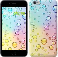 """Чехол на iPhone 6 Plus Пузырьки """"3272c-48"""""""