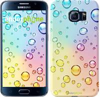 """Чехол на Samsung Galaxy S6 G920 Пузырьки """"3272c-80"""""""