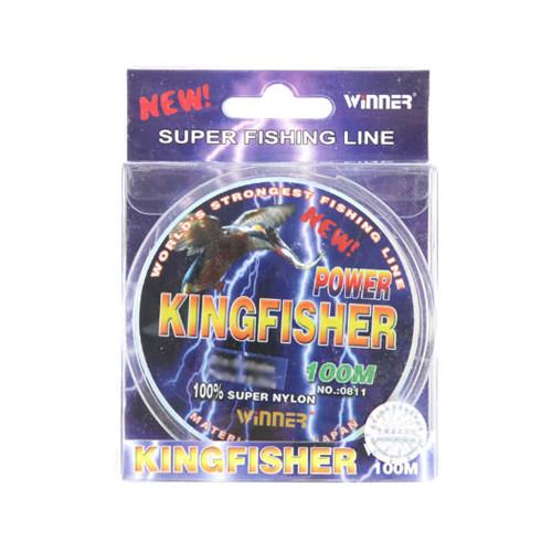 Леска Winer King Fisher 100м цветная 0.18