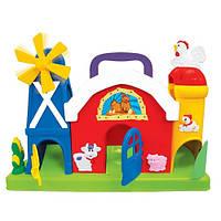 """Развивающие и обучающие игрушки «Kiddieland» (051672) набор """"Ферма-лабиринт"""" (звук. эффекты)"""