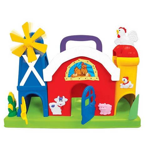 """Развивающие и обучающие игрушки «Kiddieland» (051672) набор """"Ферма-лабиринт"""" (звук. эффекты), фото 2"""