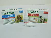 Празел - суспензия против глистов  для собак, 10 мл