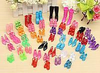 Набор 10 пар обуви для куклы Барби и других кукол