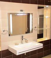 Зеркало со светодиодной подсветкой 800х600 мм