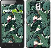"""Чехол на Lenovo Vibe P1m Банановые листья """"3078m-154"""""""