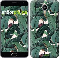 """Чехол на Meizu M3 Note Банановые листья """"3078m-256"""""""