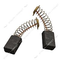 Угольные щетки ЩЭ 5х8х12 пружинные, контакт средний пятак (№R40)