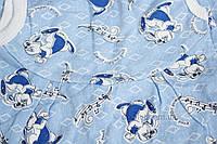 Высокие ползунки байка р.62 Пингвин Габби 0602 р.62 голубой зайцы