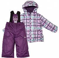 Комплект зимний, куртка и комбинезон Gusti 4852 SWG цвет фиолетовый