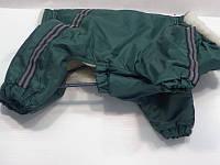 Комбинезон Мопс мех, темно-зеленый