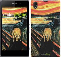 """Чехол на Sony Xperia Z1 C6902 Крик Мунка """"2800m-38"""""""