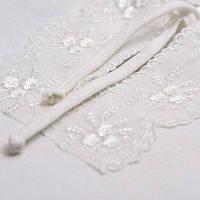Сорочка крестильная Яночка-2 д.р. с шапочкой Интерлок Цвет белый, молочный размер 74-86 Бетис