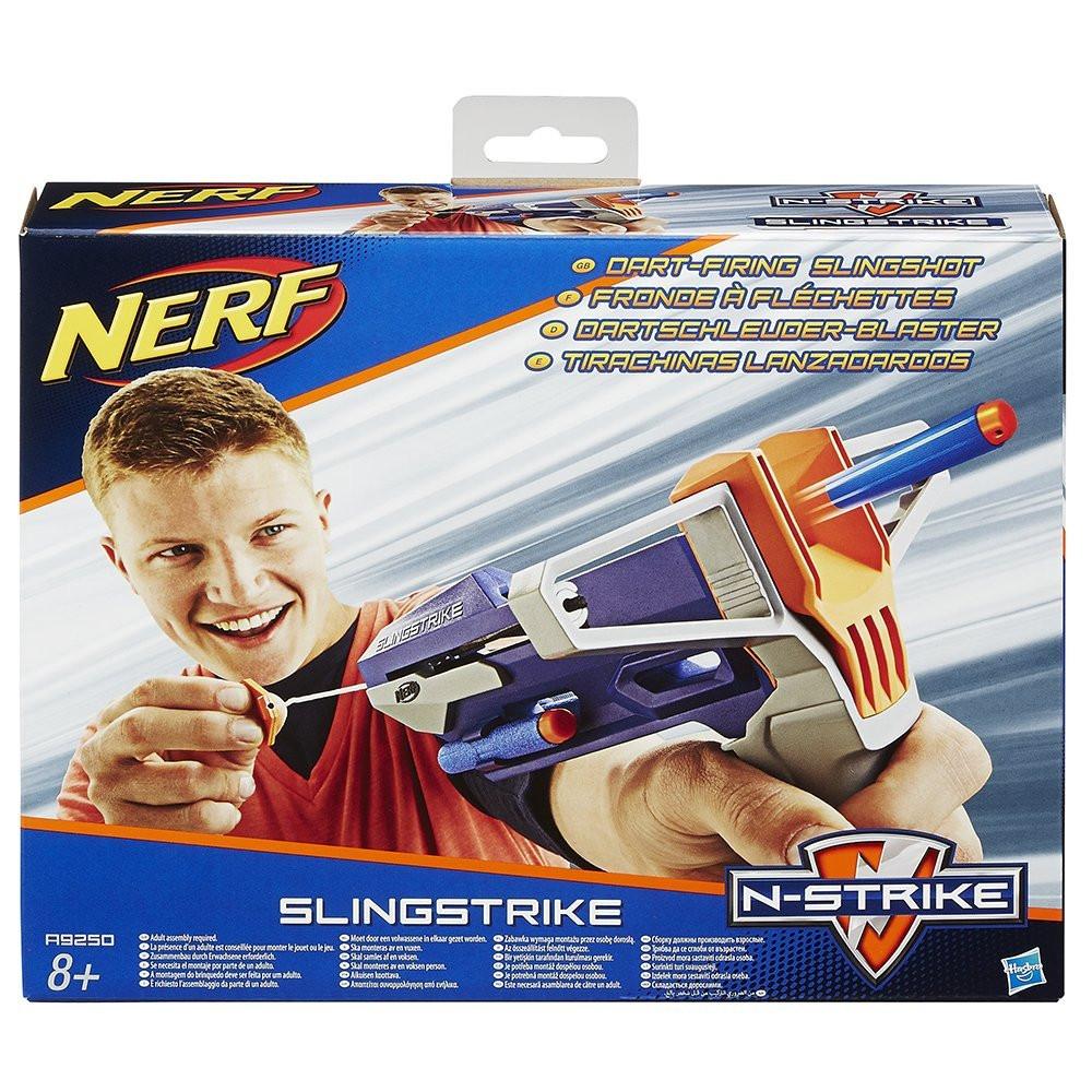 Пистолет-рогатка от Нерф - Slingstrike, N-Strike, Nerf, Hasbro