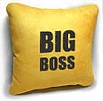 "Подарочная подушка ""Big boss!"", фото 4"