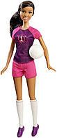Barbie Барби афро-американка карьера я могу быть Футболисткой Careers Soccer Player African-American Doll, фото 1